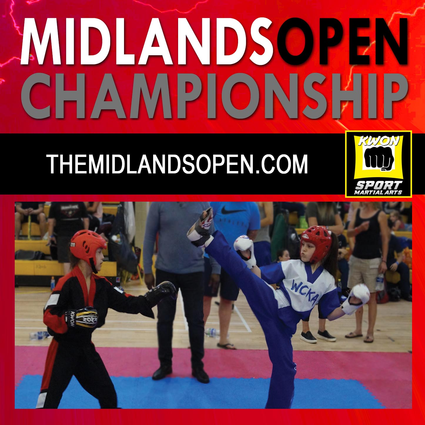 Midlands Open Championship for Kickboxing and Karate in the UK